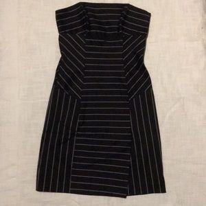 Bebe women's strapless mini dress
